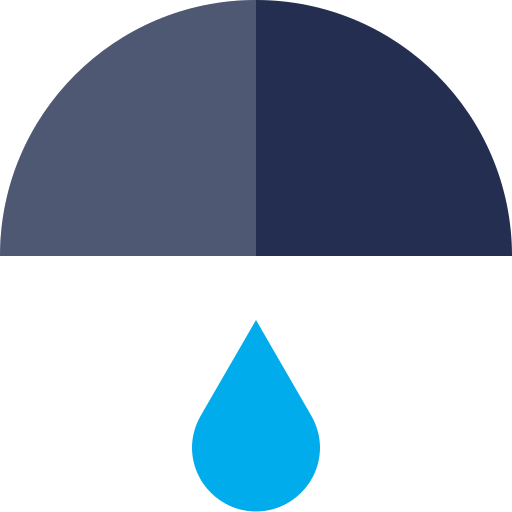 rain, rainfall, rainy icon