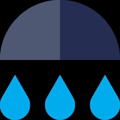 rain, rainfall, rainy icon