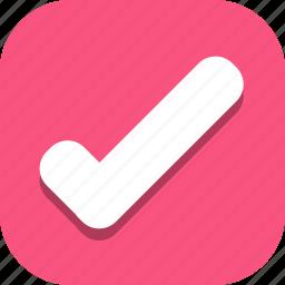 accept, check, done, mark, tick icon