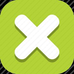 cross, multiply, remove icon