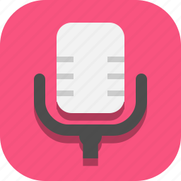 microphone, record, recorder icon