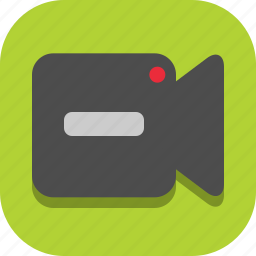 vdo, video icon