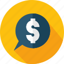 badge, business, currency, dollar, money icon