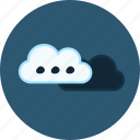 cloud, cloud storing, clouds, cloudy, computing, option, upload icon