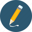 art, edit, pen, school, tool, writing icon