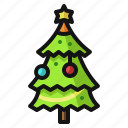 christmas, gifts, holiday, pine, presents, santa, tree icon