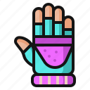 christmas, clothing, cold, fashion, glove, snow, winter icon