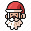 christmas, claus, gifts, holiday, presents, santa, winter icon