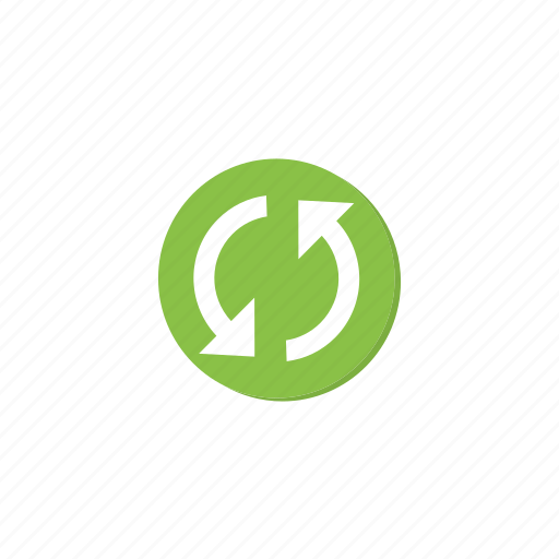 circle, cycle, green, refresh, reload, sync, update icon