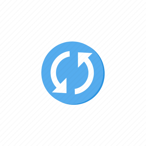 circle, cycle, lightblue, refresh, reload, sync, update icon
