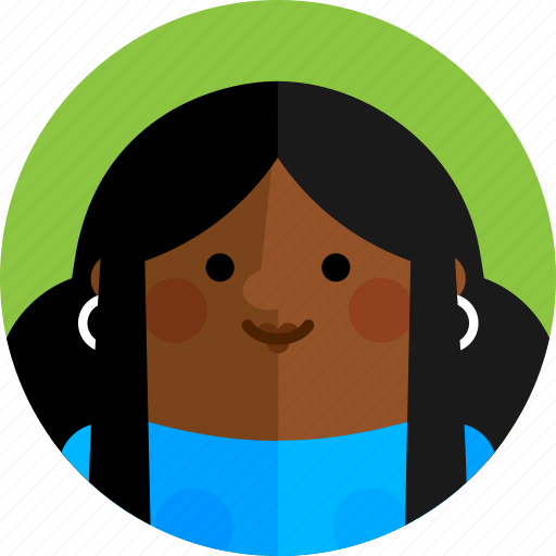 Avatar, character, female, girl, people, profile, woman icon - Download on Iconfinder
