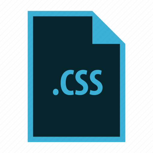 css, extension, file, format, sheet icon