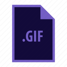 extension, gif icon