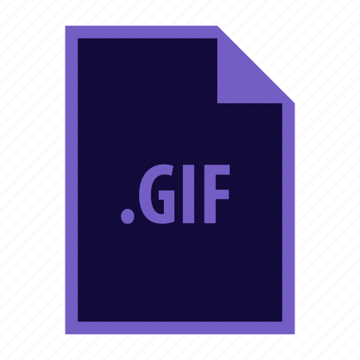 Gif, extension icon - Download on Iconfinder on Iconfinder