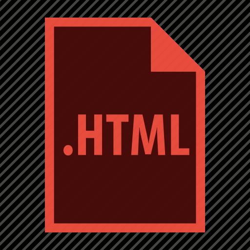 coding, development, extension, file, html icon