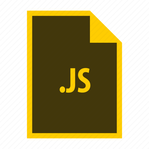 extension, file, format, js icon