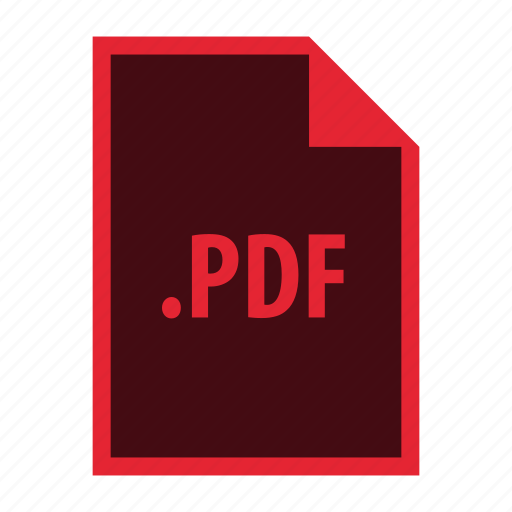 Pdf, document, extension, file, format icon - Download on Iconfinder