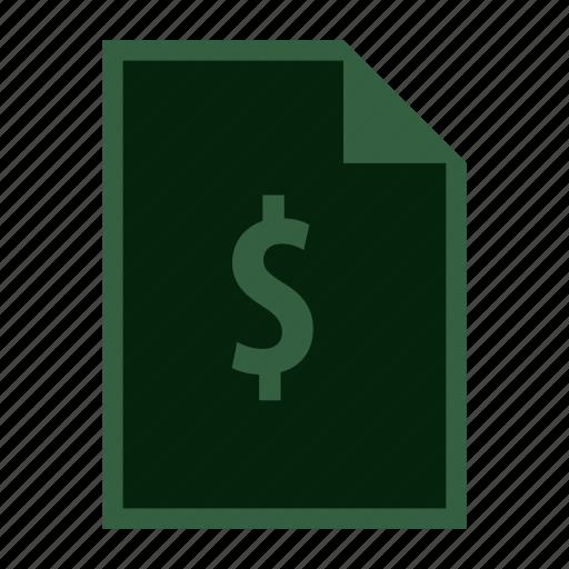 bank, cash, dollar, financial, money, pay icon