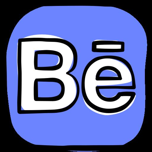 behance, communication, media, network, social, social media, web icon
