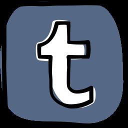communication, media, network, social, social media, tumblr, web icon