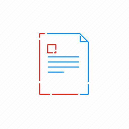 content, document, page, paper, text icon