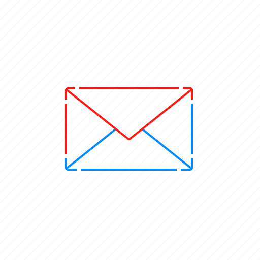 email, envelope, inbox, message, notification, text icon