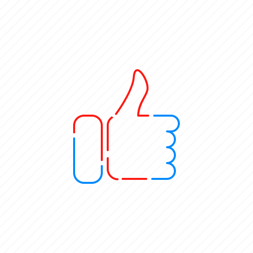 like, signal, social media, thumb, up, vote icon