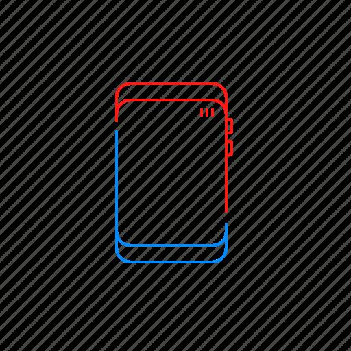 mobile, phone, screen, smart icon