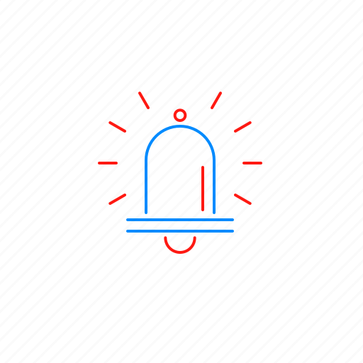 aleart, bell, notification, ring, sound icon