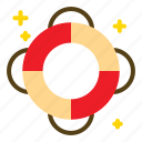 guard, life, ring, save icon