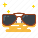 eyeglasses, glasses, summer, sunglasses icon