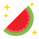 fruit, summer, watermelon icon