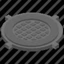 garbage disposal, kitchen strainer, plumbing tool, sink strainer, waste strainer icon
