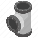 connector pipe, plumbing services, underground pipe, water sanitation system, water supply icon