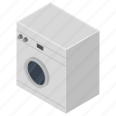 clothe washer, household appliance, laundry, washer dryer, washing machine icon