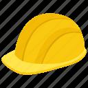 construction employee cap, hard hat, headgear, labour cap, labour hat, plumber hat icon