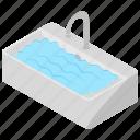 bathroom sink, hand basin, sink, washbasin, washbowl, water supply icon