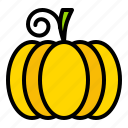 autumn, fall, halloween, pumpkin, thanksgiving, vegetable icon