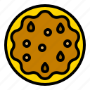 bakery, food, pastry, pecan pie, thanksgiving icon