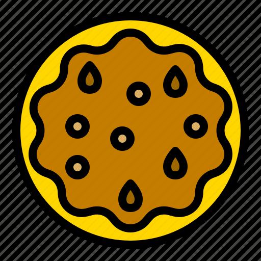 bakery, food, pastry, pecan pie, thanksgiving icon