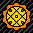 bakery, pie, pumpkin icon