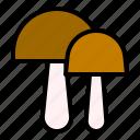 autumn, fall, food, mushroom, thanksgiving icon