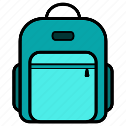 adventure, backpack, bag, child, office, school, student icon
