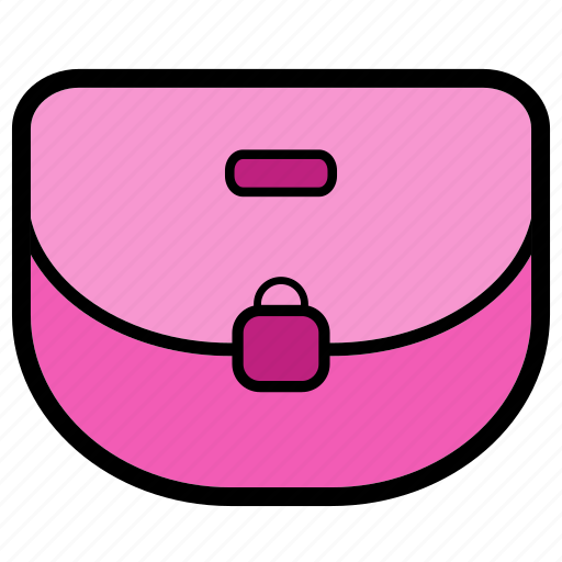 bag, money, pink, purse, shopping, wallet, woman icon