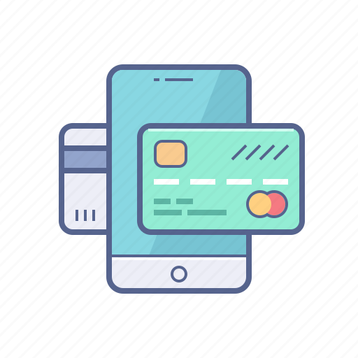 card, mobile, online, payment, transaction icon
