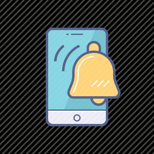 alarm clock, mobile, notification, time icon