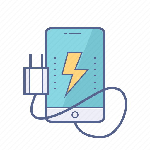 battery, charge, mobile icon