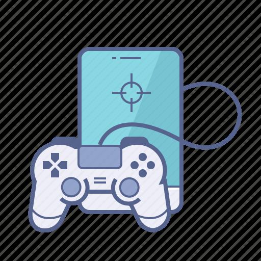 app, entertainment, game, mobile icon