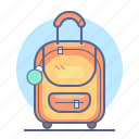 baggage, luggage, tourism, travel icon
