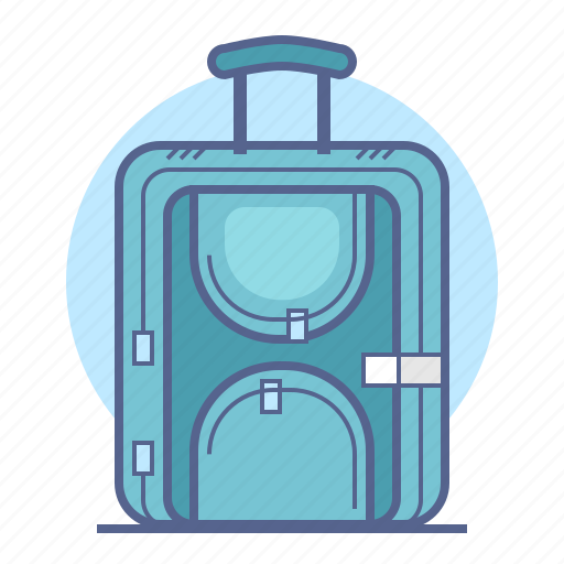 baggage, luggage, tourism, travel icon